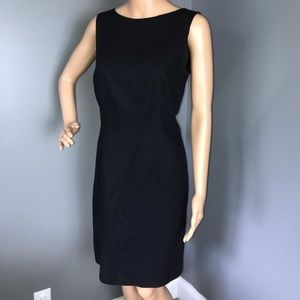 Talbots Shift Dress Black Size 8